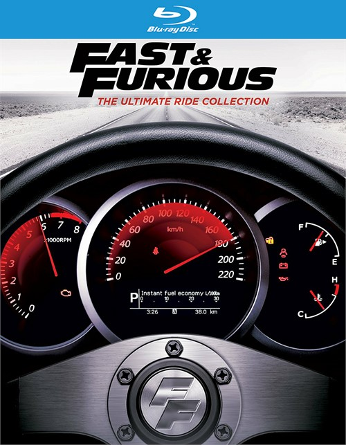 Fast & Furious: The Ultimate Ride Collection (Blu-ray + UltraViolet)