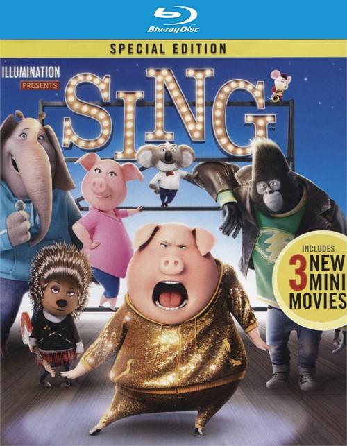 Sing (4K Ultra HD + Blu-ray + UltraViolet)