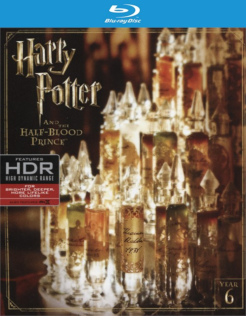 Harry Potter and the Half-Blood Prince (4K Ultra HD + Blu-ray + UltraViolet)