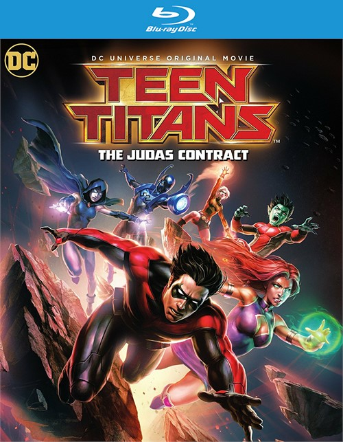 Teen Titans: The Judas Contract (Blu-ray + DVD + UltraViolet)