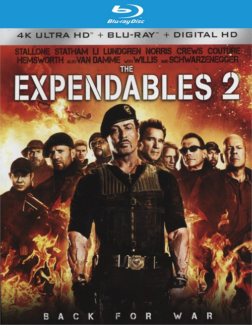 Expendables 2, The (4K Ultra HD + Blu-ray + UltraViolet)