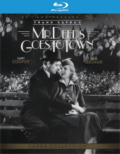 Mr. Deeds Goes to Town: 80th Anniversary Edition (Blu-ray + Ultra-Violet)