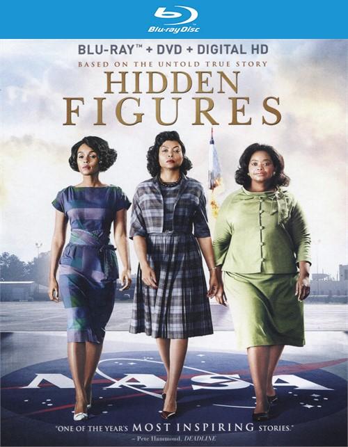 Hidden Figures (Blu-ray + DVD Combo + Digital HD)