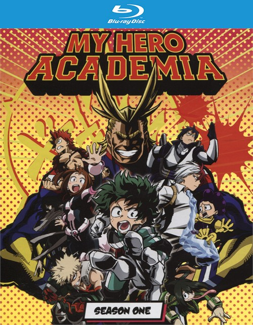 My Hero Academia: The Complete First Season - Limited Edition (Blu-ray + DVD Combo)