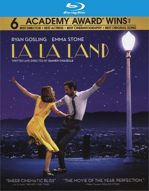 La La Land (Blu-ray + DVD Combo + UltraViloet)
