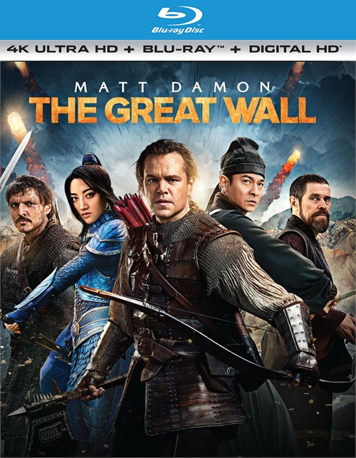 Great Wall, The (4K Ultra HD + Blu-ray + UltraViolet)