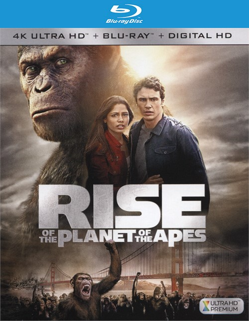 Rise Of The Planet Of The Apes (4K Ultra HD + Blu-ray + UltraViolet)