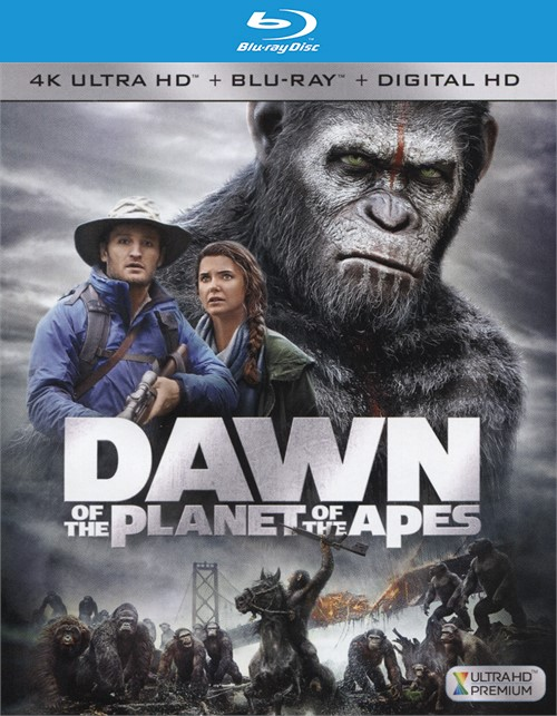 Dawn Of The Planet Of The Apes (4K Ultra HD + Blu-ray + UltraViolet)