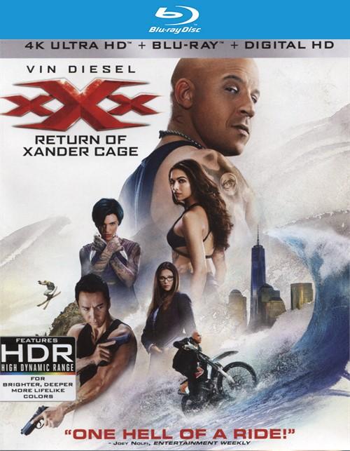xXx: Return of Xander Cage  (4K Ultra HD + Blu-ray + UltraViolet)