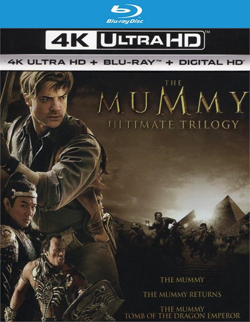 The Mummy Ultimate Trilogy (4K Ultra HD + Blu-ray + UltraViolet)
