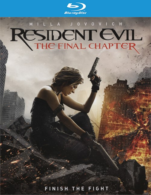 Resident Evil: The Final Chapter Collection (Blu-ray + UltraViolet)