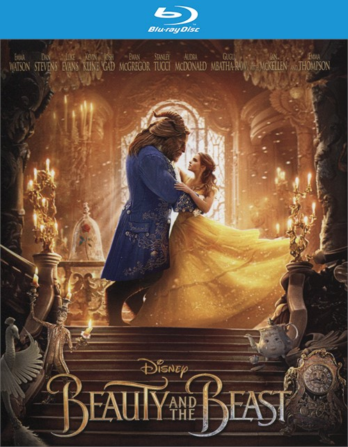 Beauty and the Beast (Blu-ray + DVD Combo + Digital HD)