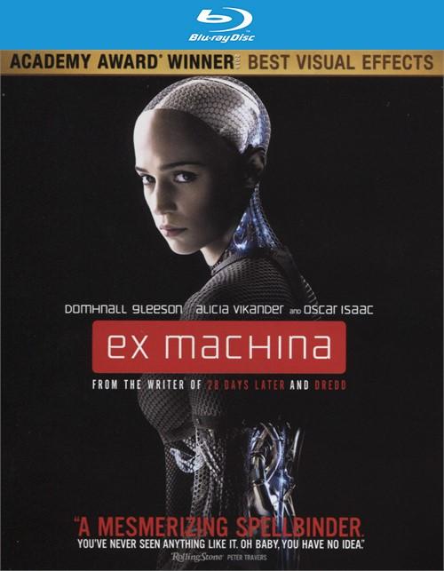 Ex Machina (4K Ultra HD + Blu-ray + UltraViolet)