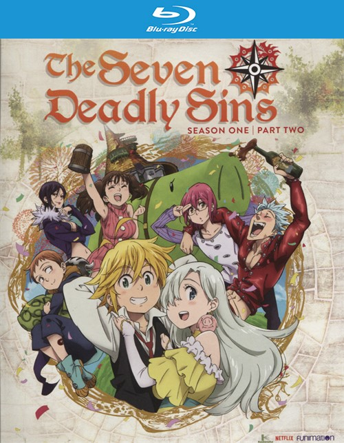 Seven Deadly Sins: Season One, Part Two (Blu-ray + DVD Combo)