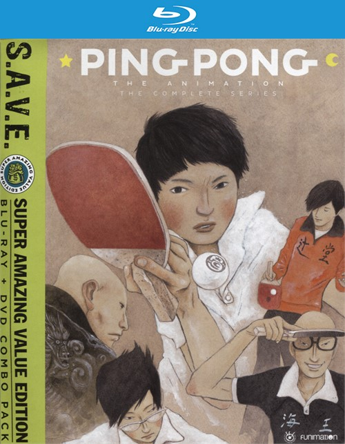 Ping Pong the Animation: The Complete Series-S.A.V.E. (Blu-ray + DVD Combo)