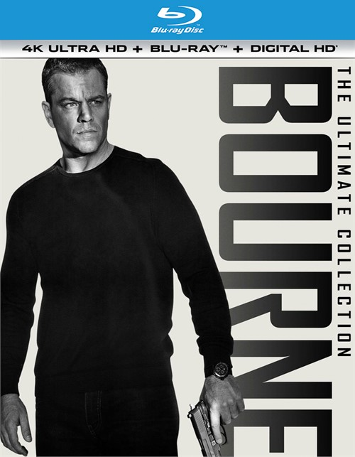 Bourne Ultimate Collection, The (4K Ultra HD + Blu-ray + UltraViolet)