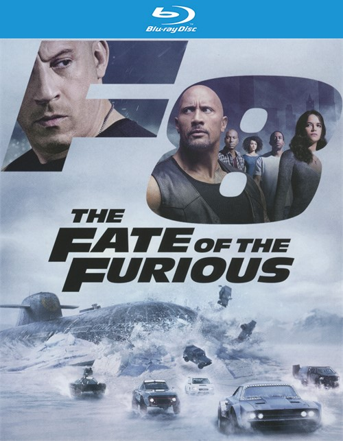 Fate of the Furious, The (Blu-ray + DVD + UltraViolet)