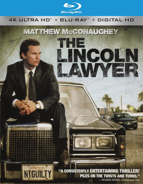Lincoln Lawyer, The (4K Ultra HD + Blu-ray + UltraViolet)