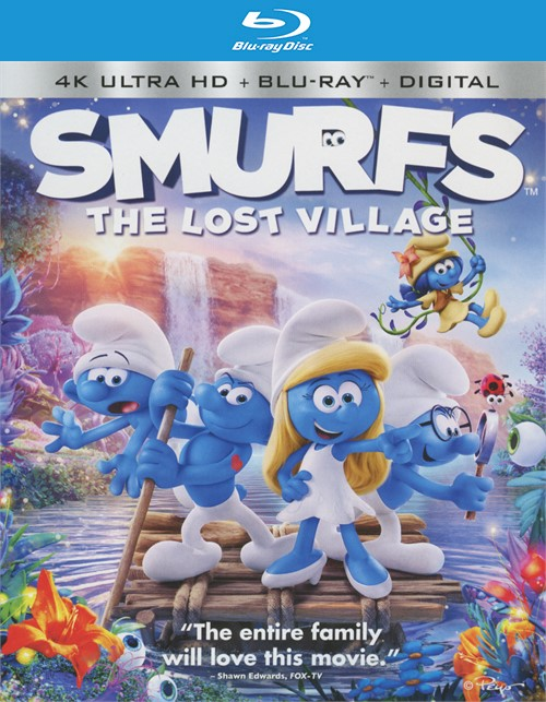 Smurfs: The Lost Village (4K Ultra HD + Blu-ray + UltraViolet)