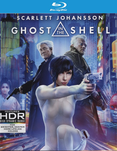 Ghost In The Shell (4K Ultra HD + Blu-ray + UltraViolet)
