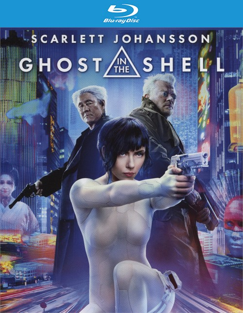 Ghost In The Shell (Blu-ray + DVD + UltraViolet)
