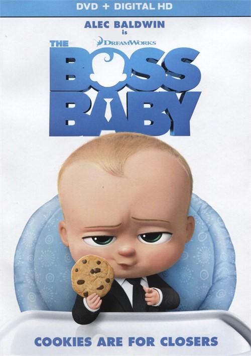 Boss Baby, The (DVD + Digital HD)