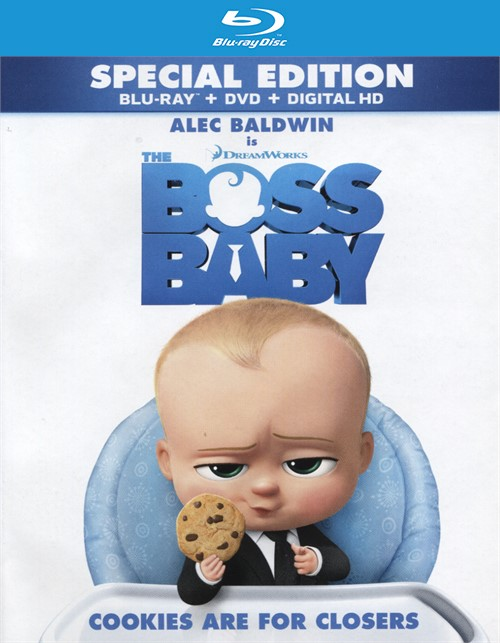 Boss Baby, The (Blu-ray + DVD + UltraViolet)