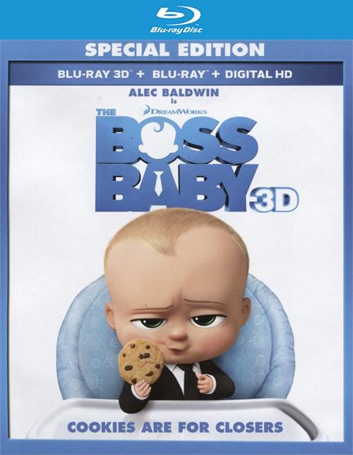 Boss Baby, The (Blu-ray 3D + Blu-ray + UltraViolet)