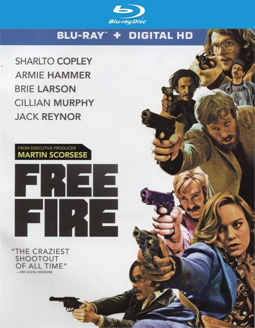 Free Fire (Blu-ray + Digital HD)