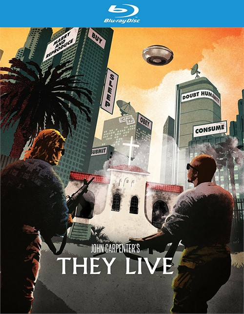 They Live: Limited Edition Steel Book