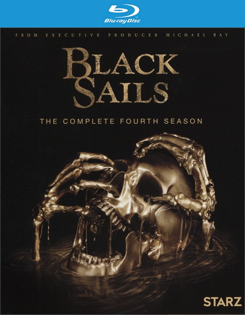 Black Sails: The Complete Fourth Season (Blu-ray + Digital HD)
