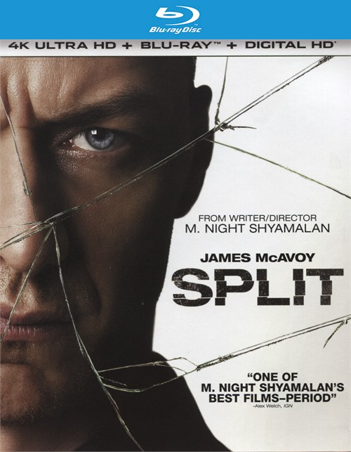 Split (4K Ultra HD + Blu-ray + UltraViolet)
