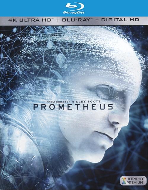 Prometheus (4k Ultra HD + Blu-ray + Digital Copy)