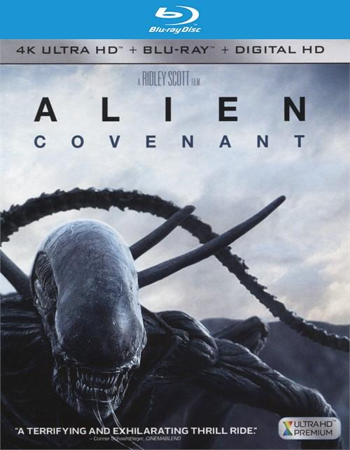 Alien: Covenant (4k Ultra HD + Blu-ray + UltraViolet)