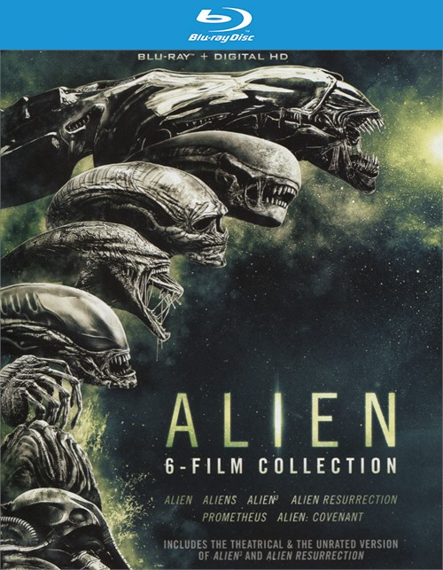 Alien: The Film Collection (Blu-ray + UltraViolet)