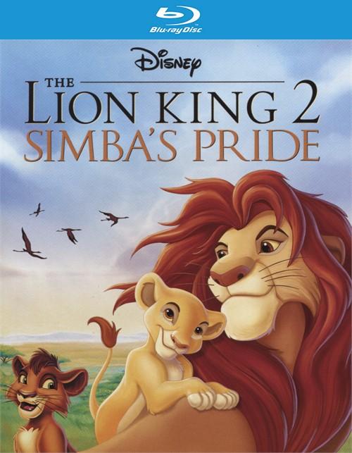 The Lion King 2: Simbas Pride (Blu-ray + DVD + Digital HD Combo)