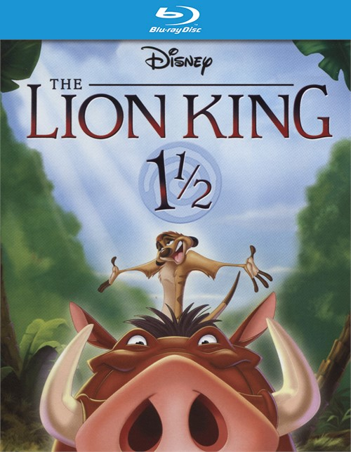 Lion King 1 1/2, The (Blu-ray + DVD + DIgital HD Combo)