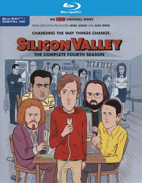 Silicon Valley: The Complete Fourth Season (Blu-ray + Digital HD)
