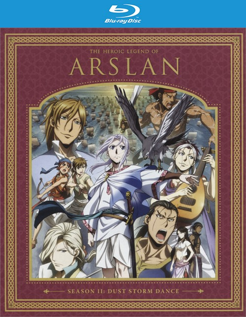 Heroic Legend of Arslan, The: Dust Storm Dance Season Two (Blu-ray + DVD Combo)