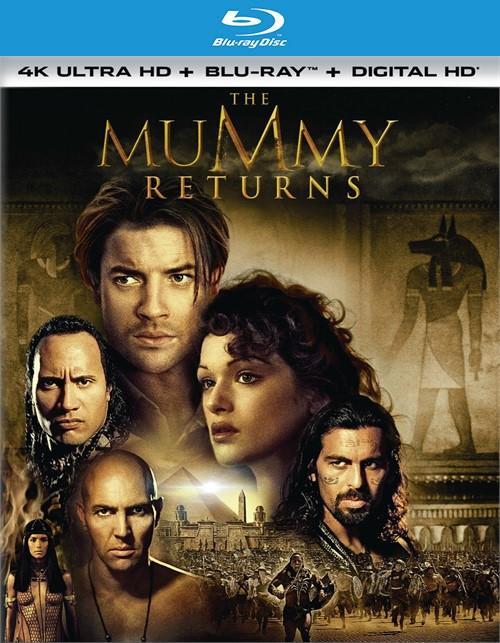 Mummy, The: Returns (4K Ultra HD + Blu-ray + UltraViolet)