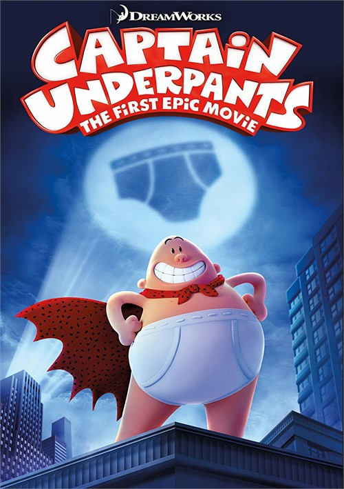 Captain Underpants: First Epic Movie (DVD + Digital HD Combo)