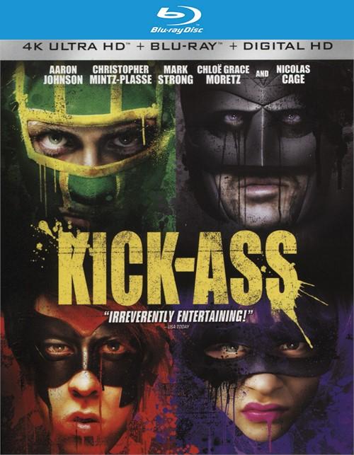 Kick-Ass (4k Ultra HD + Blu-ray + UltraViolet)
