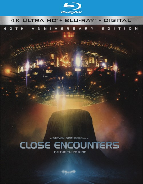 Close Encounters of the Third Kind  (4k Ultra HD + Blu-ray + UltraViolet)
