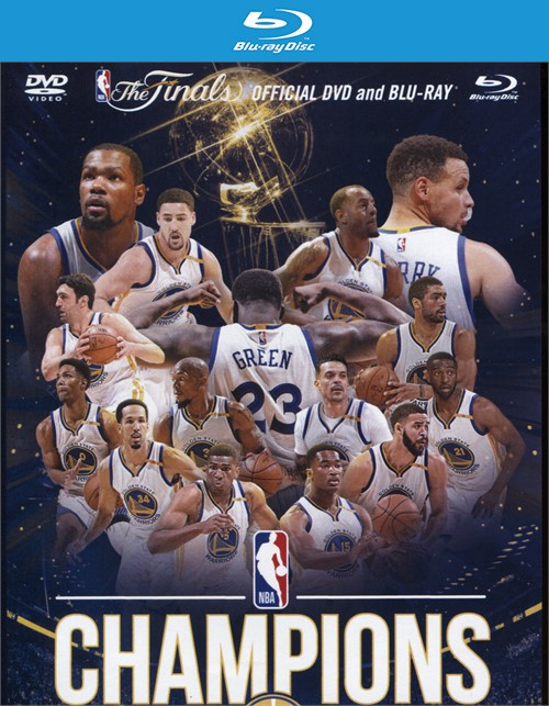 2016-2017: NBA Champions - The Golden State Warriors (Blu-ray + DVD Combo