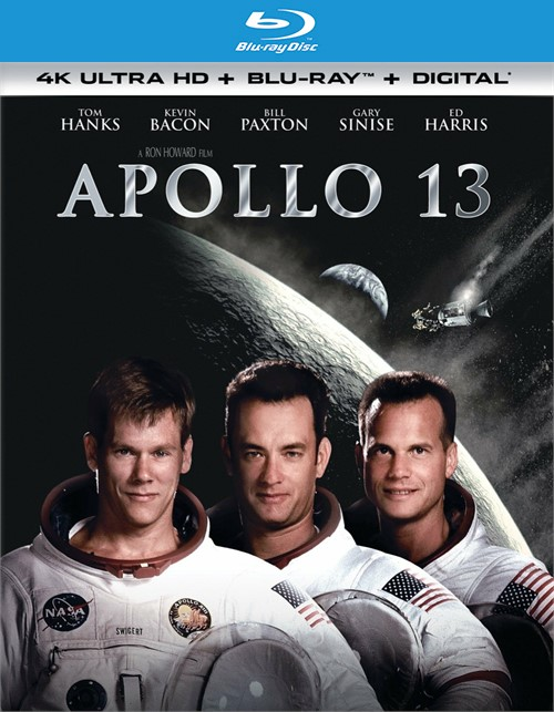 Apollo 13 (4k Ultra HD + Blu-ray + UltraViolet)
