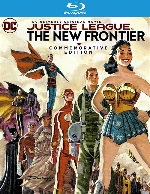 Justice League: New Frontier Commemorative Edition (Blu-ray + DVD + Digital HD)