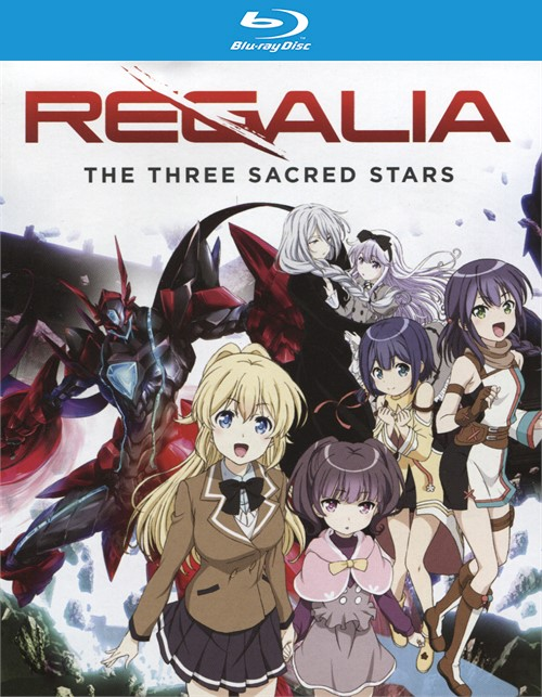 Regalia: The Three Sacred Stars - The Complete Series (Blu-ray + DVD Combo)