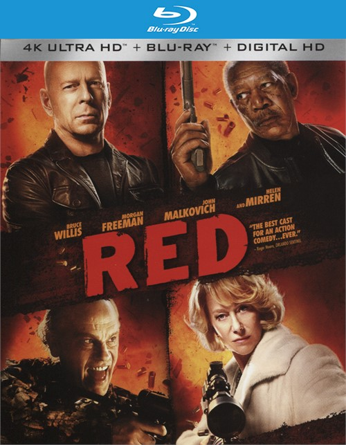 Red (4k Ultra HD + Blu-ray + UltraViolet)