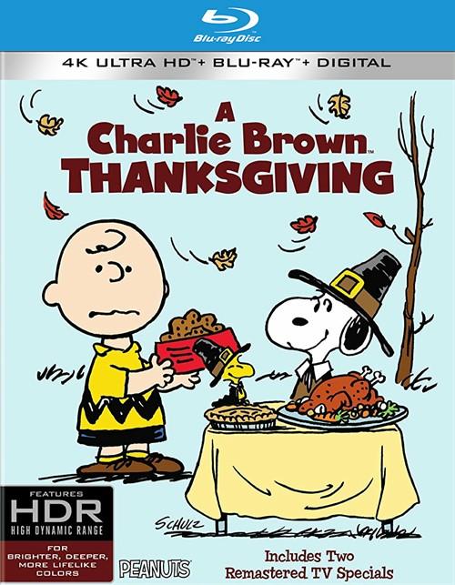 Peanuts: Charlie Brown Thanksgiving, A (4k Ultra HD + Blu-ray + UltraViolet)