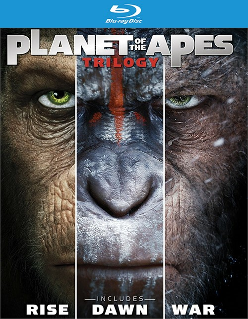 Planet of the Apes: The Complete Trilogy (Blu-ray + DVD + Digital HD)